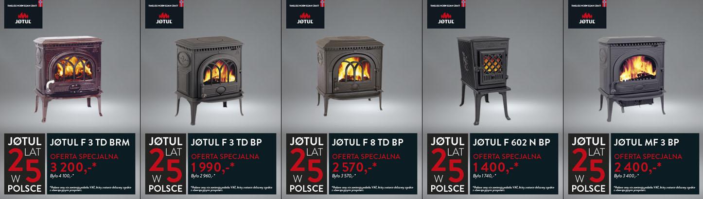 Kominki KOM-PLEX Jotul 25 lat w Polsce